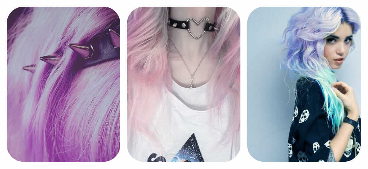 How to be pastel goth