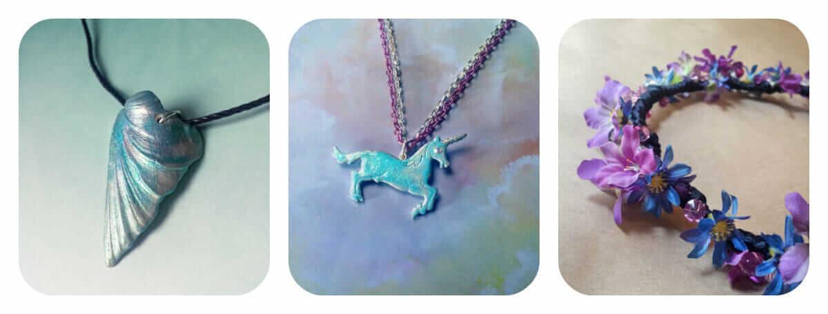 Bionic Unicorn Store Collage