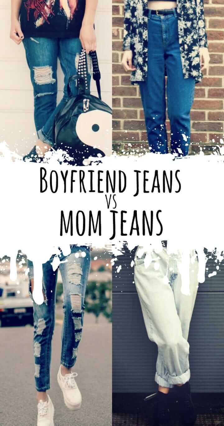 Which is better? Boyfriend Jeans or Mom jeans? Let's find out! https://ninjacosmico.com/boyfriend-jeans-vs-mom-jeans/