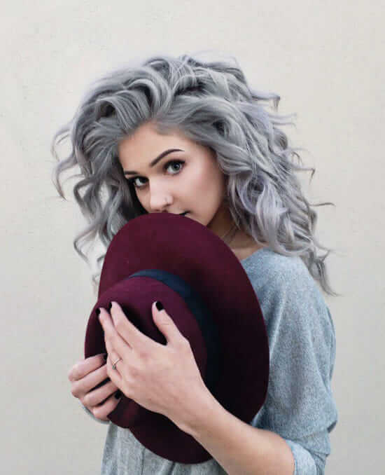 Full Hair Dye | Breathtaking Silver Hair Colors For Stylish Women Who Are Also Funky