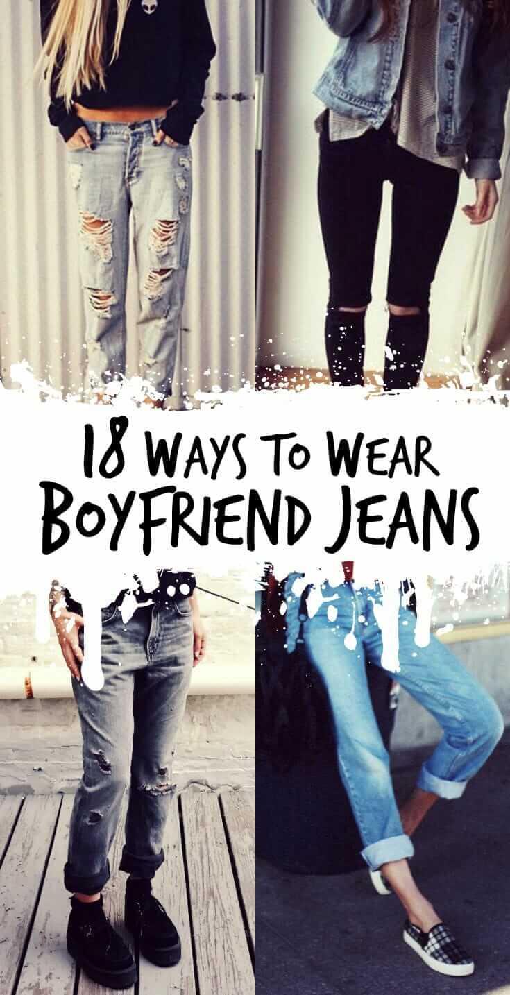 18 ways to wear boyfriend jeans