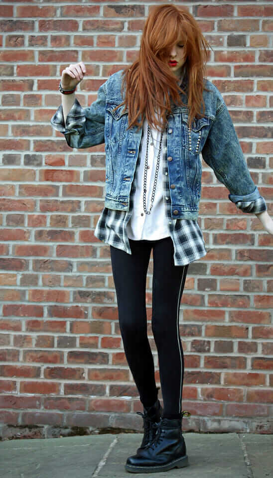 20 Stylish Ways to Wear Flannel Shirts - Page 5 of 6 ...