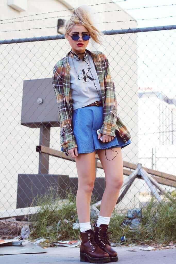 20 Stylish Ways To Wear Flannel Shirts Page 2 Of 6