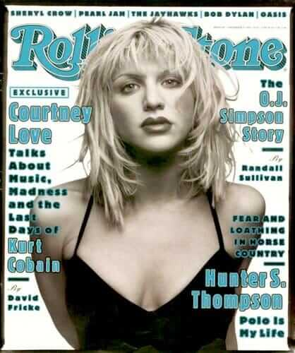 Courtney Love Rolling Stone Cover