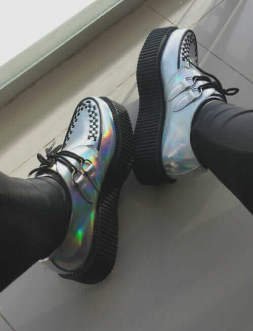 Holographic Creepers Shoes