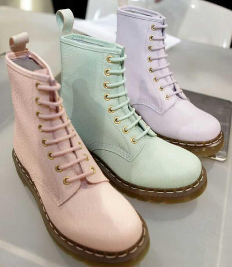 Pastel Dr Martens Boots