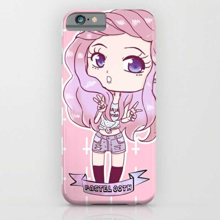 Pink Alternative Girl iPhone Case