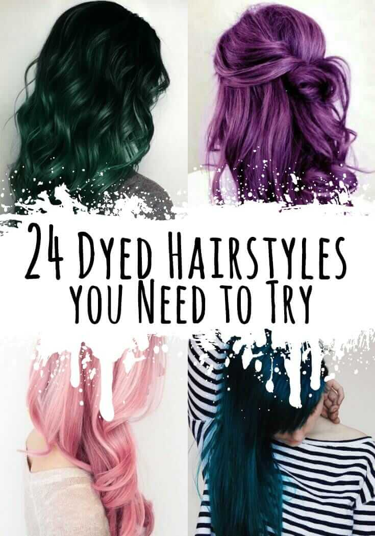 24 Dyed Hairstyles you Need to Try - Ninja Cosmico
