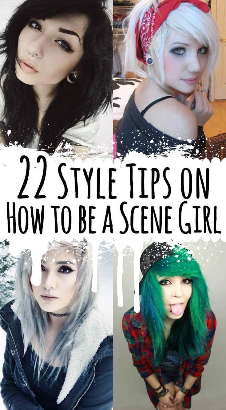 22 Style Tips on How to be a Scene Girl