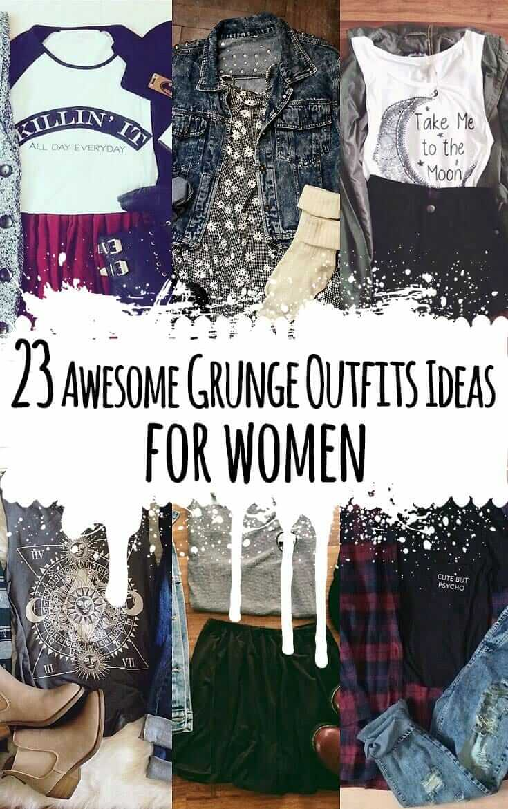 cbc917a6b32b9 23 Awesome Grunge Outfits Ideas for Women - Ninja Cosmico