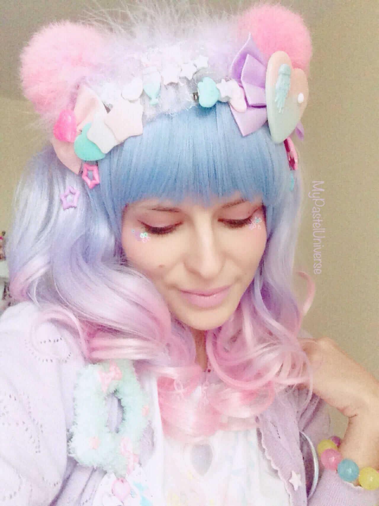 Lolita Style Natural Hair
