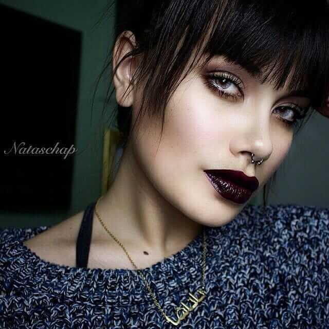 Grunge girl Makeup Look: Bronze Smokey eye with Occ Lip tar