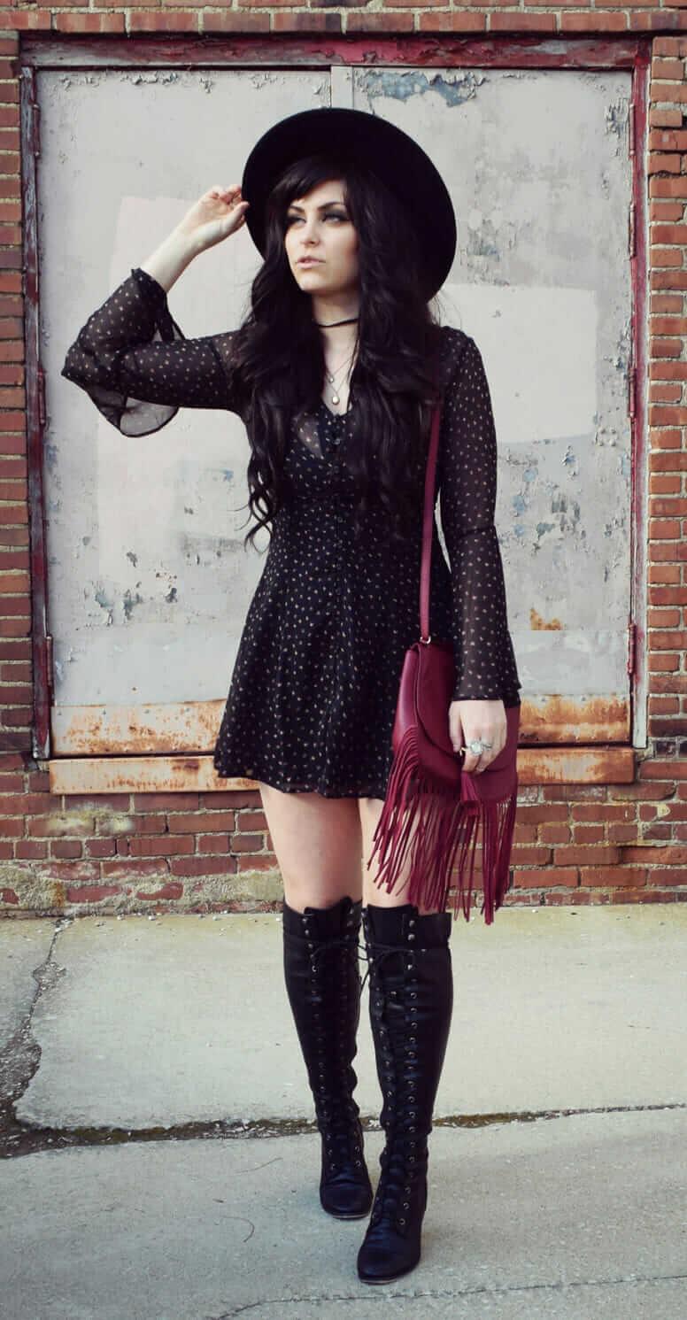 8 Cool Ways to Wear Alternative Fashion Dresses