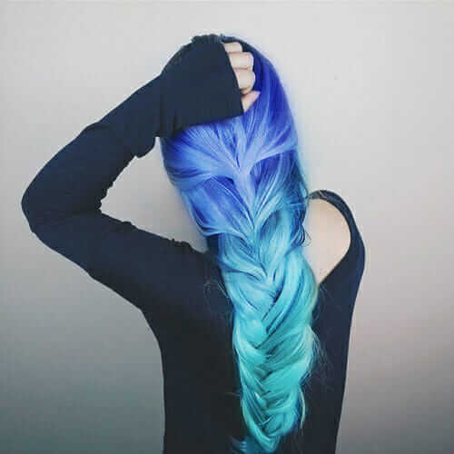 Beautiful Ombre braided hair