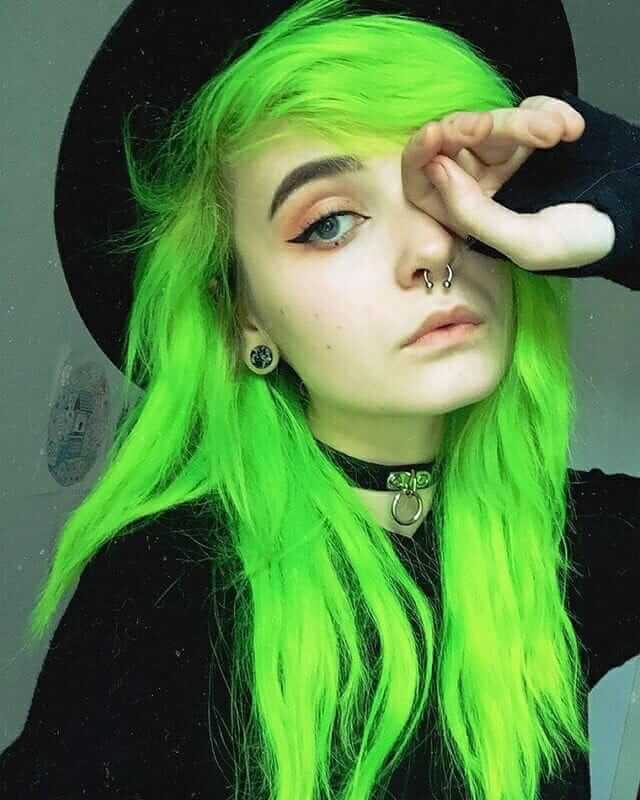 Green Hair Color Best Hair Color 2018