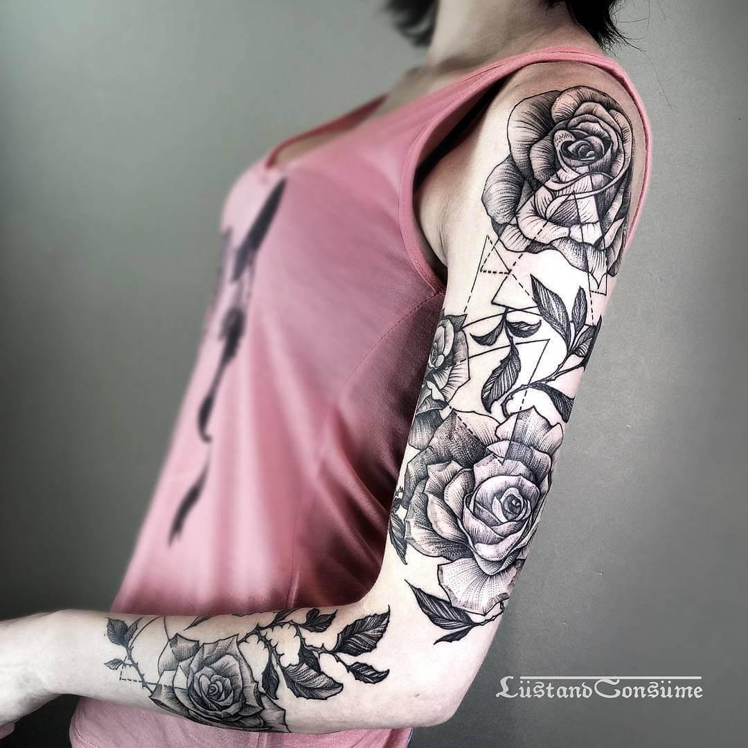 27 Forearm Tattoo Design Ideas: 27 Inspiring Rose Tattoos Designs