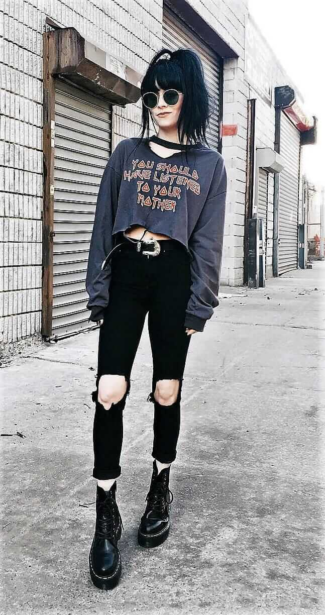 23 Cool Dark Grunge Outfit Ideas - Page 10 Of 23 - Ninja Cosmico