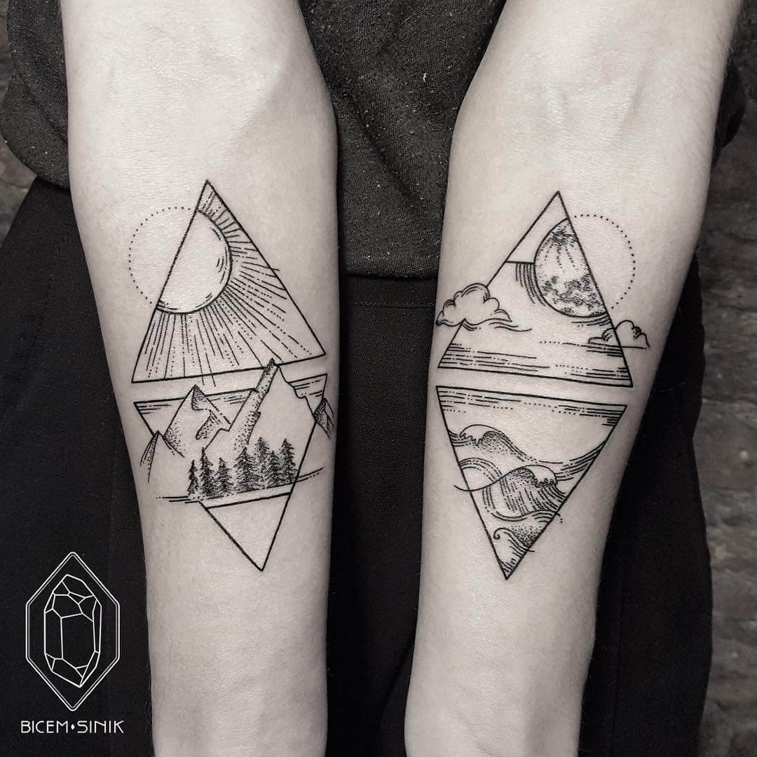 25 Best Ideas About Modern Tattoos On Pinterest: 23 Geometric Tattoos Ideas