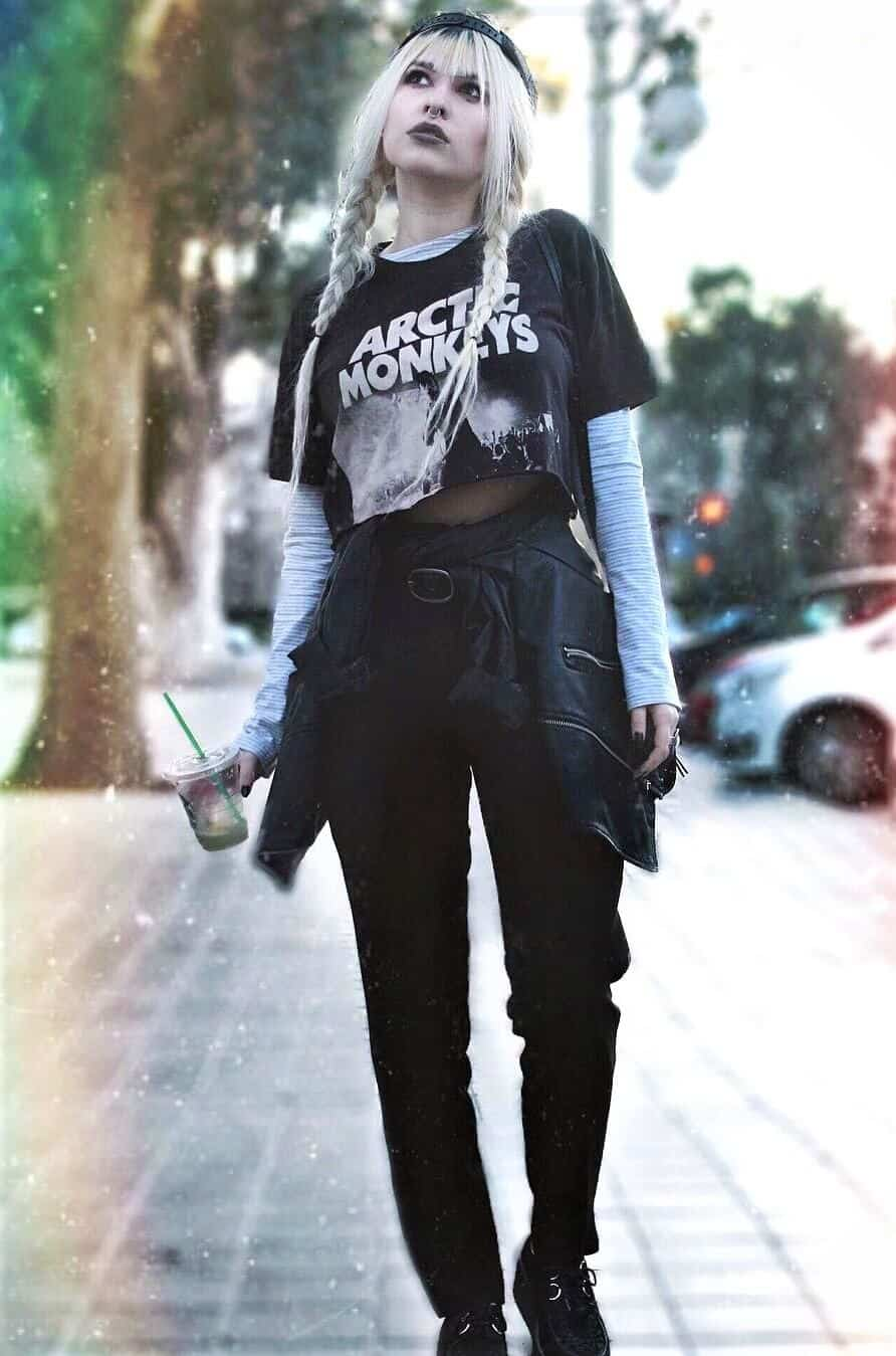 df0fdb54a8e32 41 Grunge Outfit Ideas for this Spring - Page 30 of 41 - Ninja Cosmico