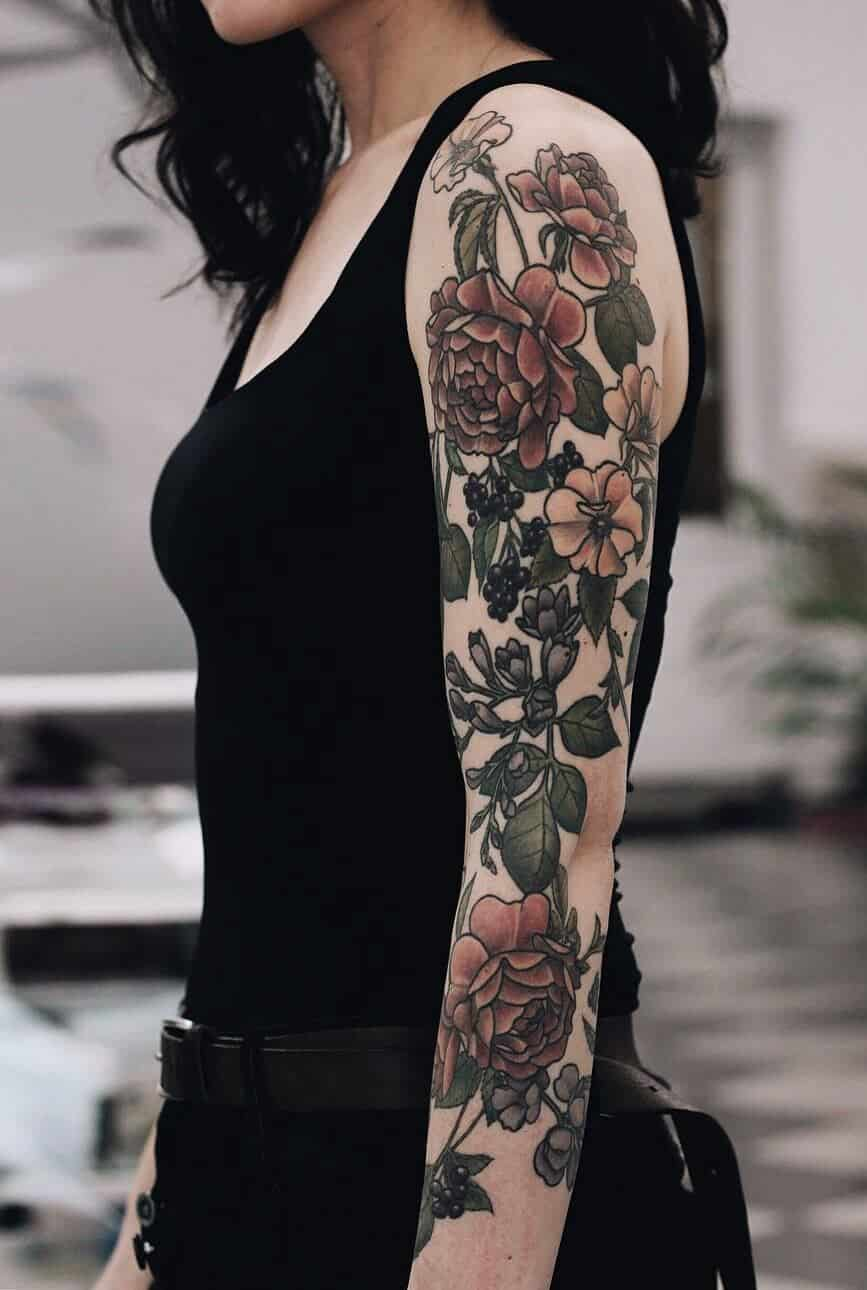 32 Sleeve Tattoos ideas for Women - Page 3 of 32 - Ninja