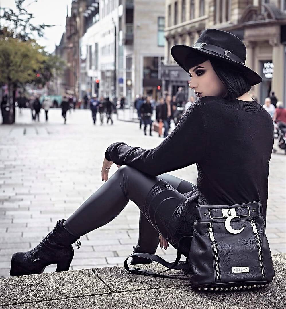 Nu-goth street style by pennold