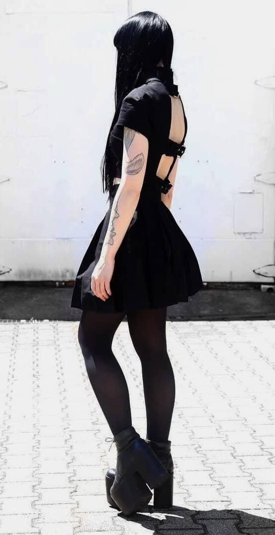 Dark grunge outfit by nuehai