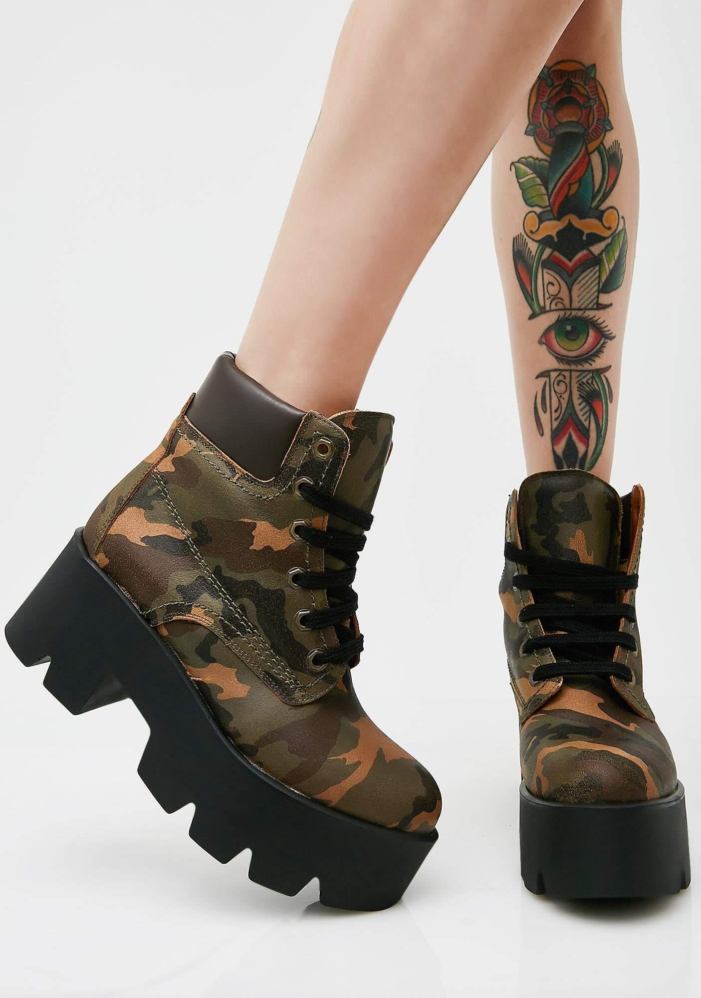 Terrence Platform Boots