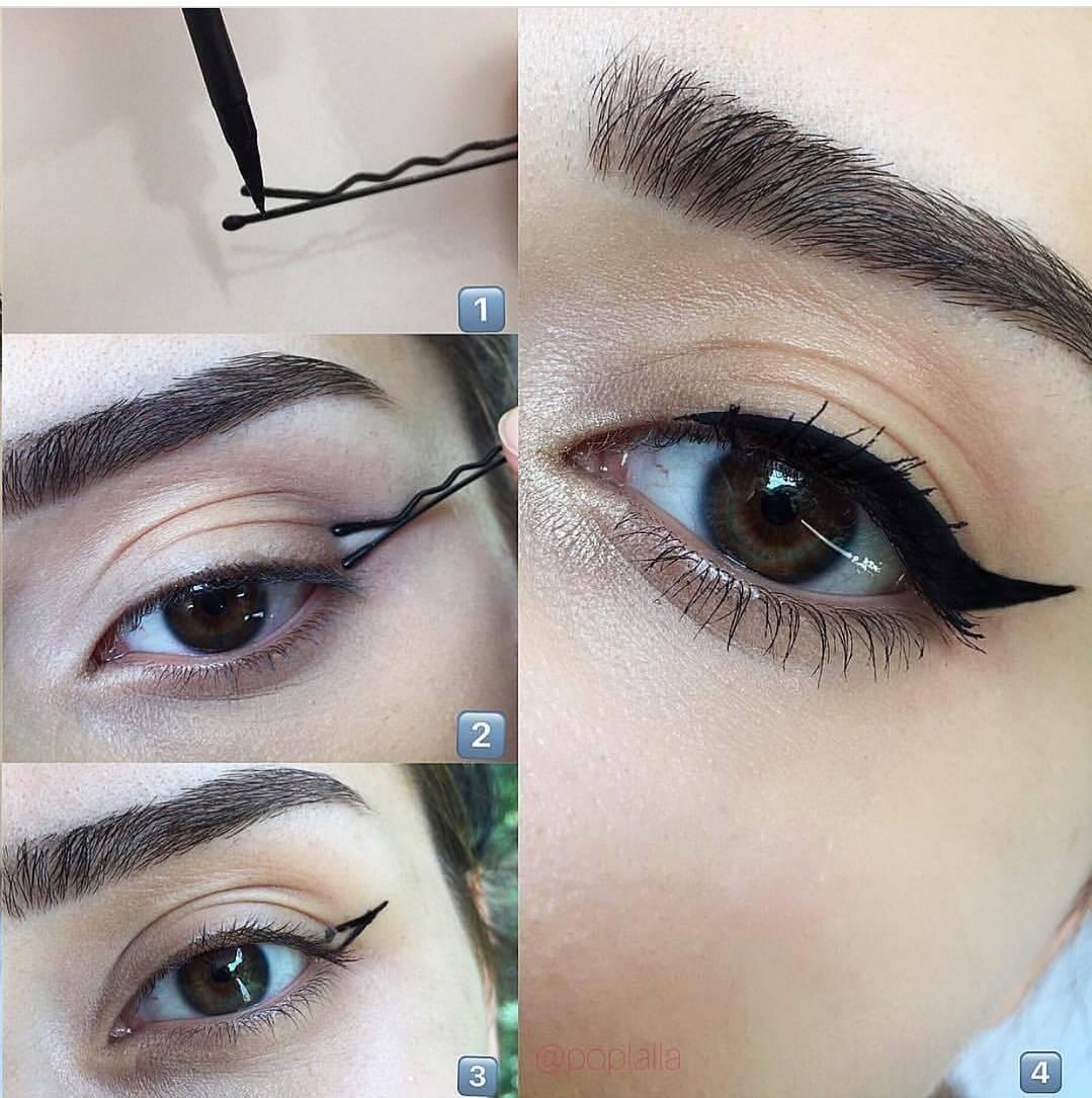 Cat Eye Makeup tutorial by poplalla