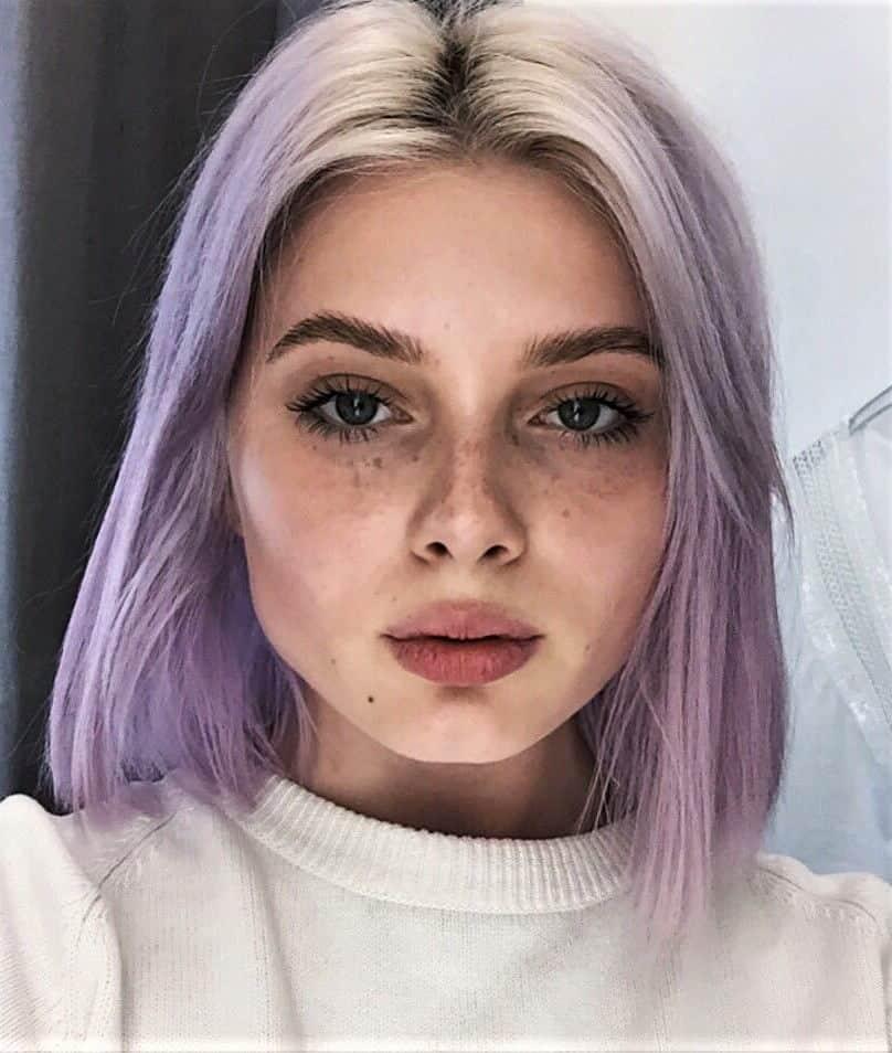 Soft ombre lilac hair dye by polusladkoye