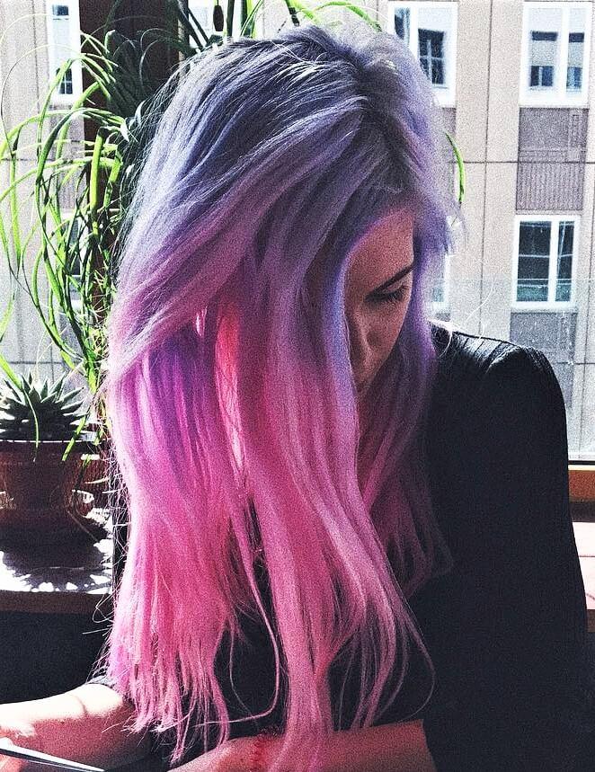 Vegan Virgin Pink Dye & Aquamarine Hair dye by marymisantropic