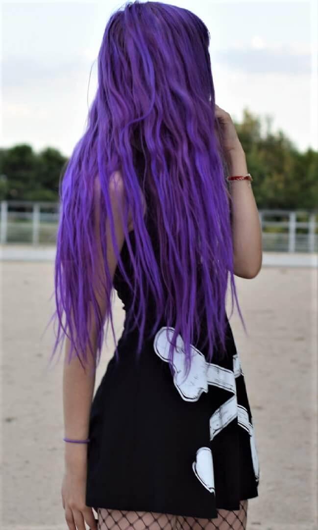 Ombre Violet Purple Hair Dye kit by resauvi