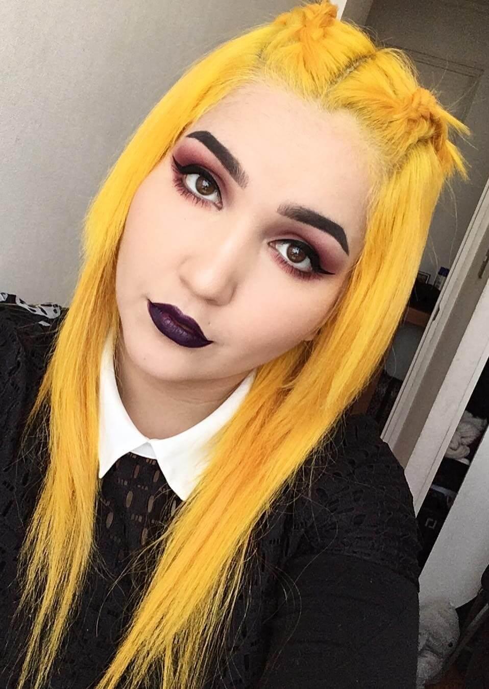 Cosmic sunshine hair dye by camiicamiii