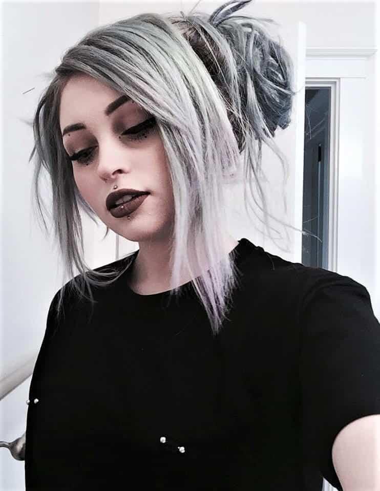 Sterling silver semi-permanent hair dye color by j0uzai