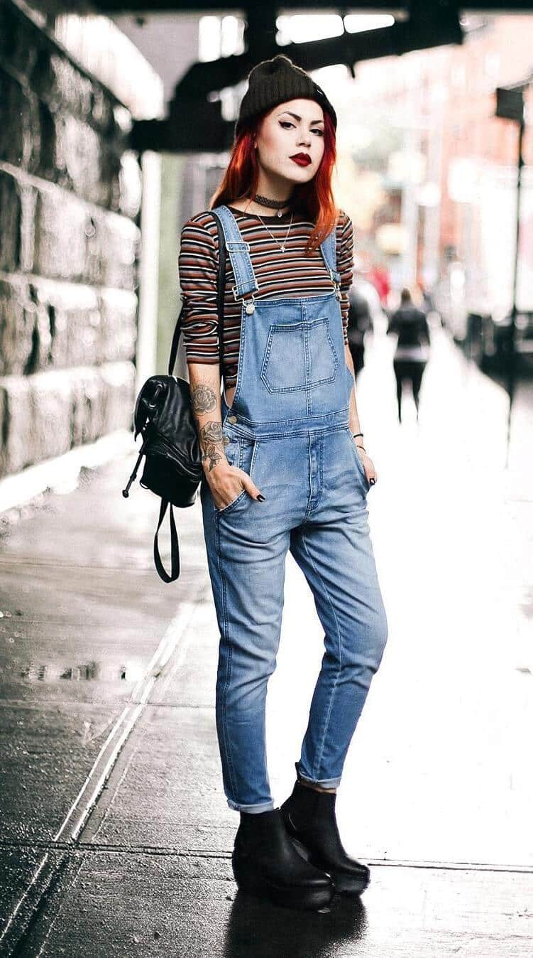 38 street style grunge looks to wear right now  page 4 of