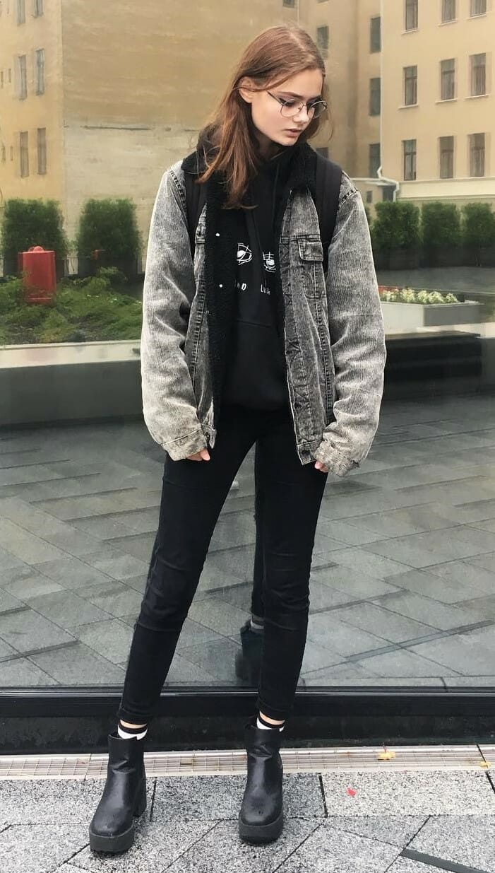 38 Street Style Grunge Looks To Wear Right Now Page 30 Of 38 Ninja Cosmico
