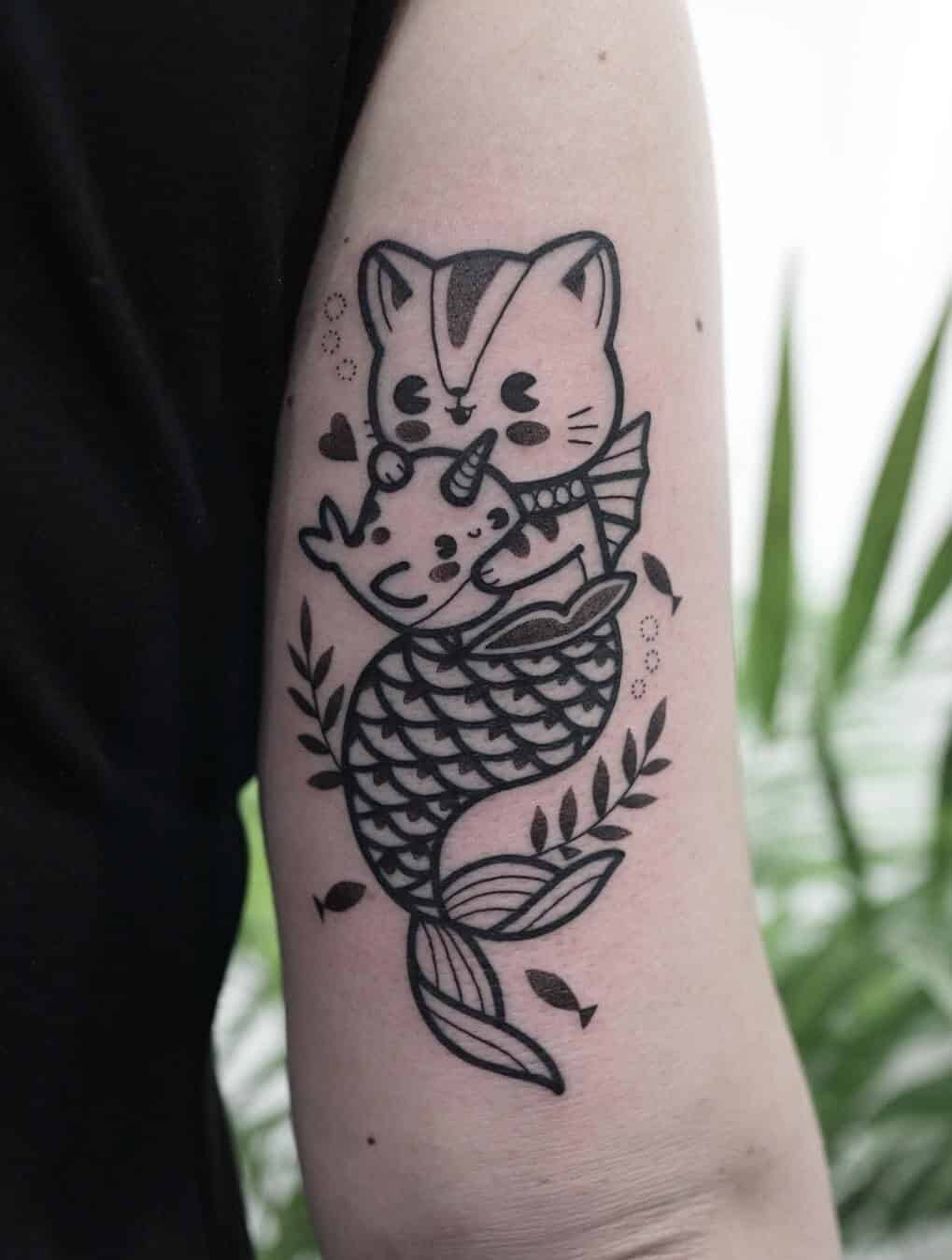 tattoo cute tattoos designs tattooer hugo anime ninjacosmico totoro source unique explore