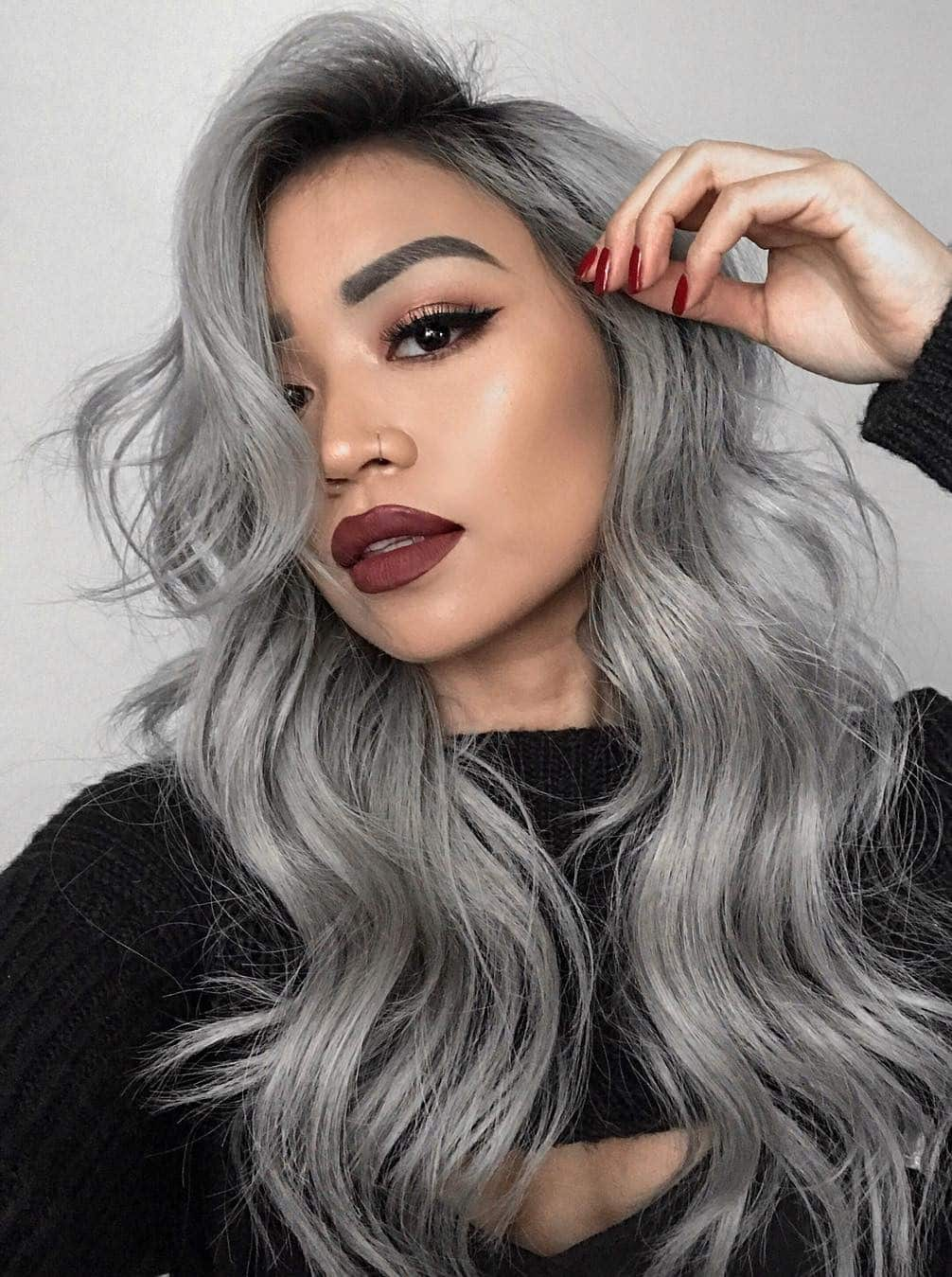 13 Grey Hair Color Ideas To Try