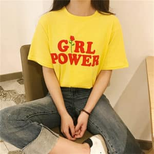 """Girl Power"" Graphic Tee"