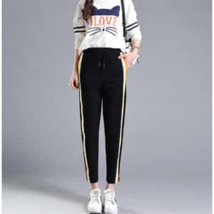 Rainbow Side-Stripe Trousers 1