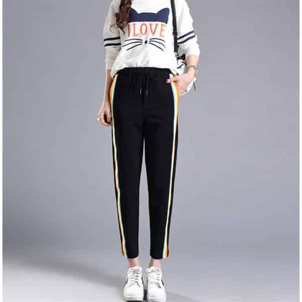 Rainbow Side-Stripe Trousers 1
