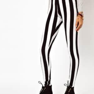 Vertical Striped Leggings 5