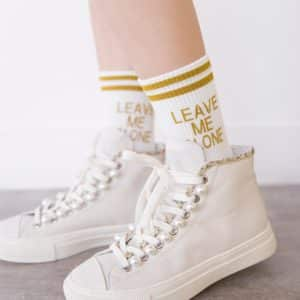 Leave Me Alone Socks 1