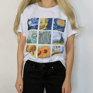 Van Gogh Paintings Graphic Tee