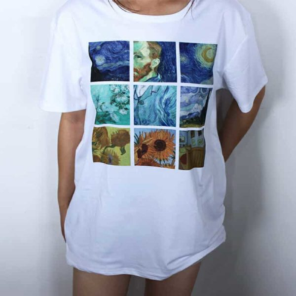 Van Gogh Paintings Graphic Tee 3