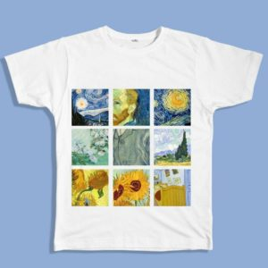 Van Gogh Paintings Graphic Tee 1