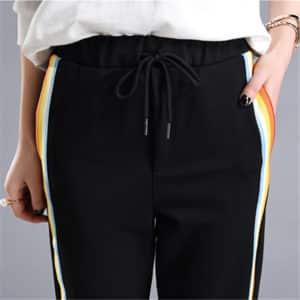 Rainbow Side-Stripe Trousers 2