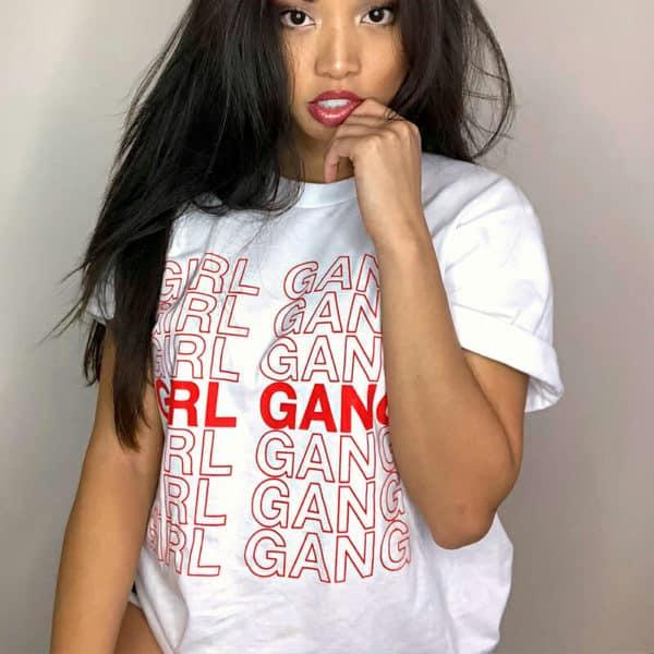 """""""Girl Gang"""" Graphic Tee"""