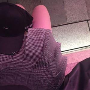 Black to Grey Gradient High Waist Skirt 5