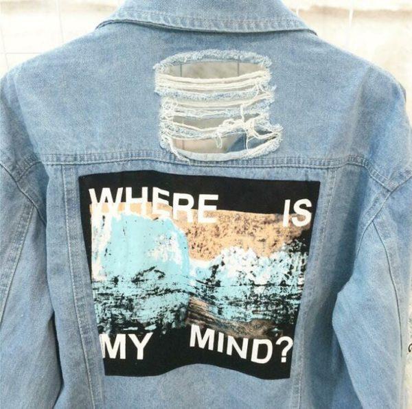 Where is My Mind Denim jacket 1