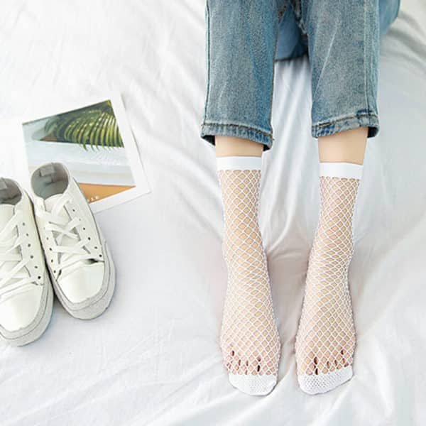 Mesh Fishnet Socks 2